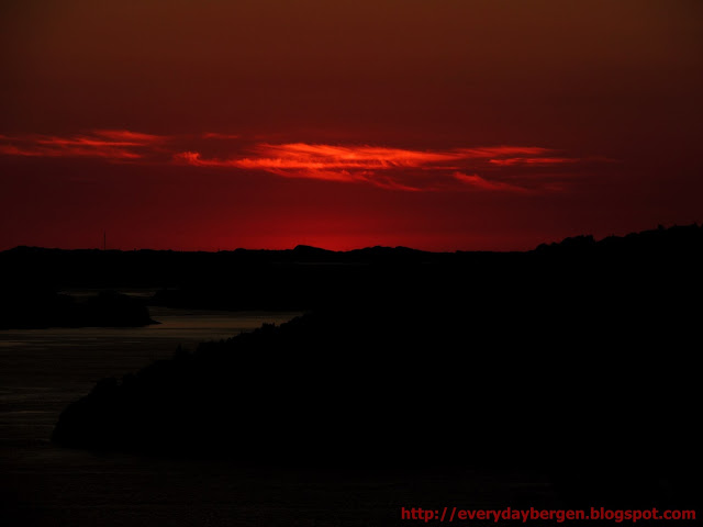 Bergen sunset