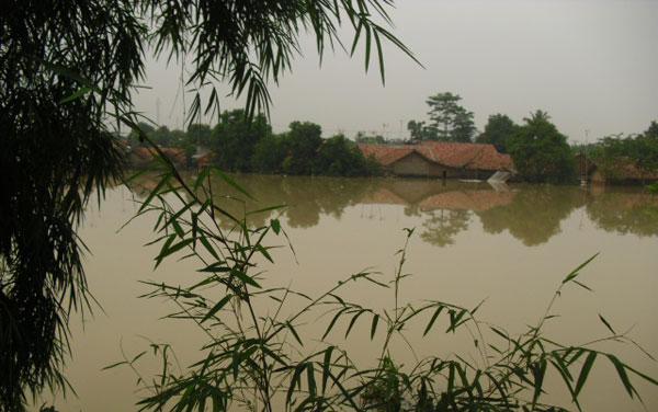 Banjir Merendam 5.051 Rumah di 4 Kecamatan Di Bandung
