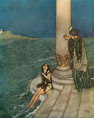Edmond Dulac Little Mermaid