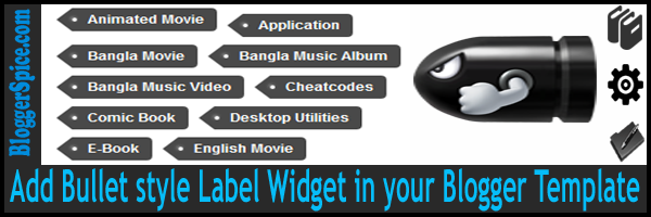 custom label widget