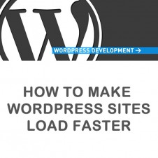 How to make WordPress sites load faster