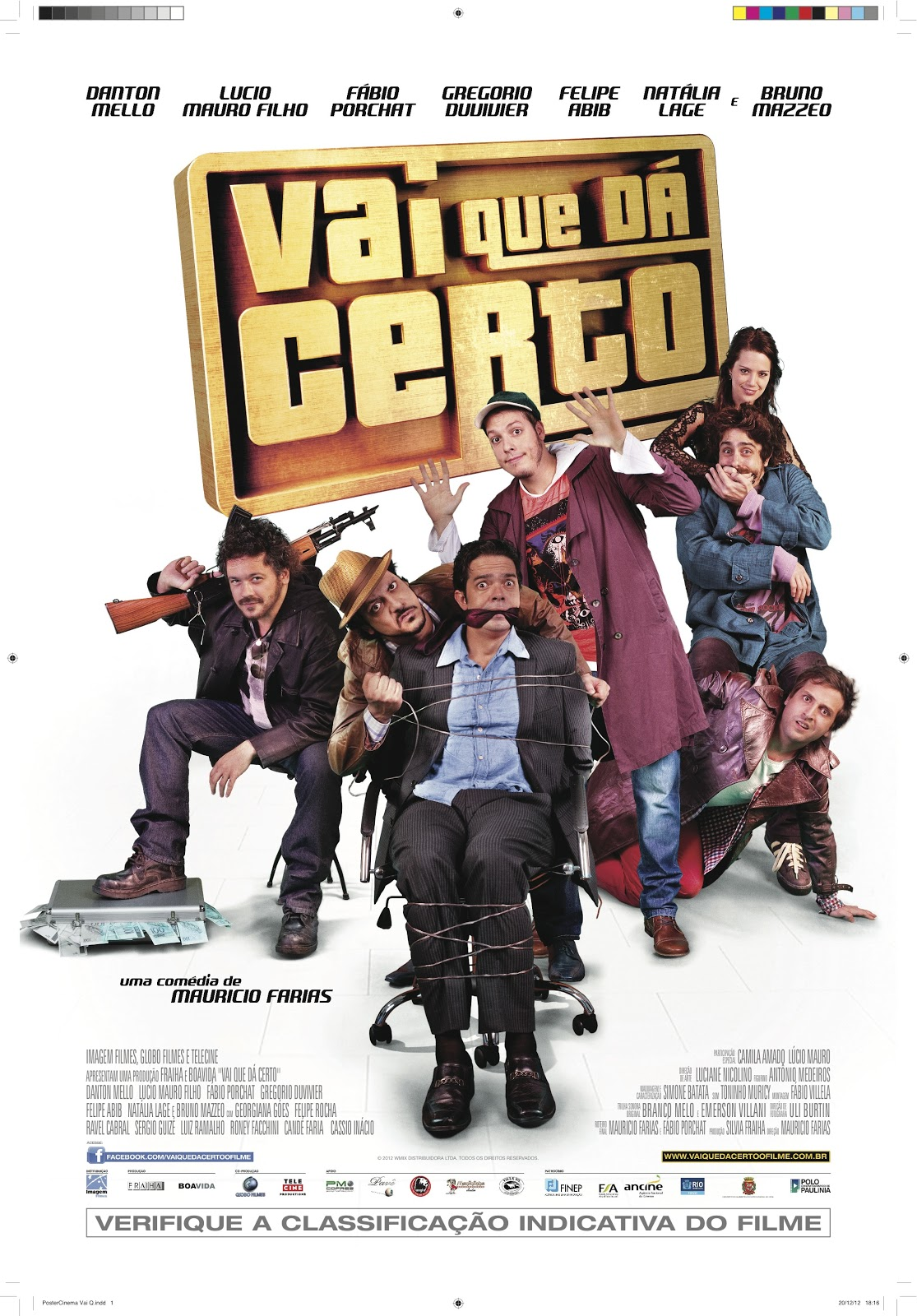 Vai Que Dá Certo (2012) DVDRip & DVD R   Torrent   Baixar via Torrent