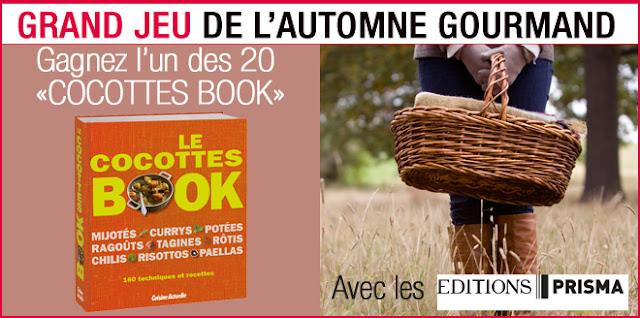 """20 exemplaires du """"Cocottes Book"""" à gagner"""