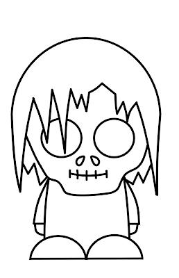 How to Draw Cartoon Zombies