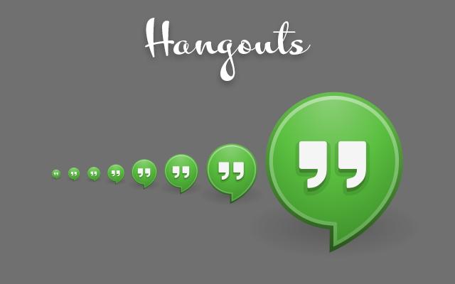 Hangouts recibe actualización