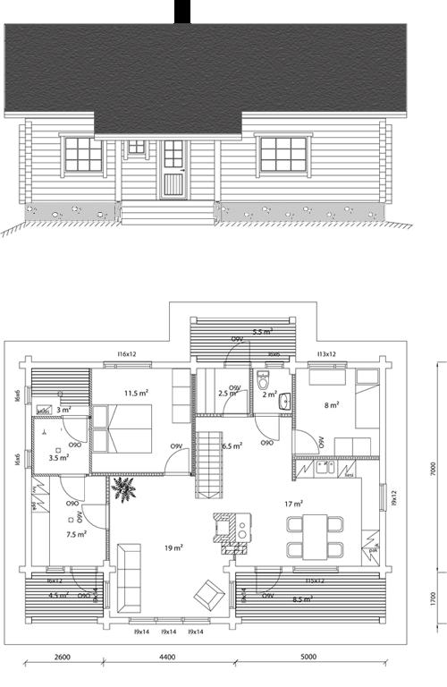 Viviendas unifamiliares arquitectura y construccion hogar for Arquitectura y construccion