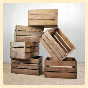 Todo mascotas hacer una cama reciclada para mascotas f cil - Caja de frutas de madera ...