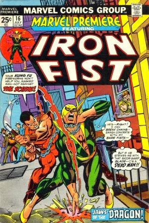 Marvel Premiere #16 comic book