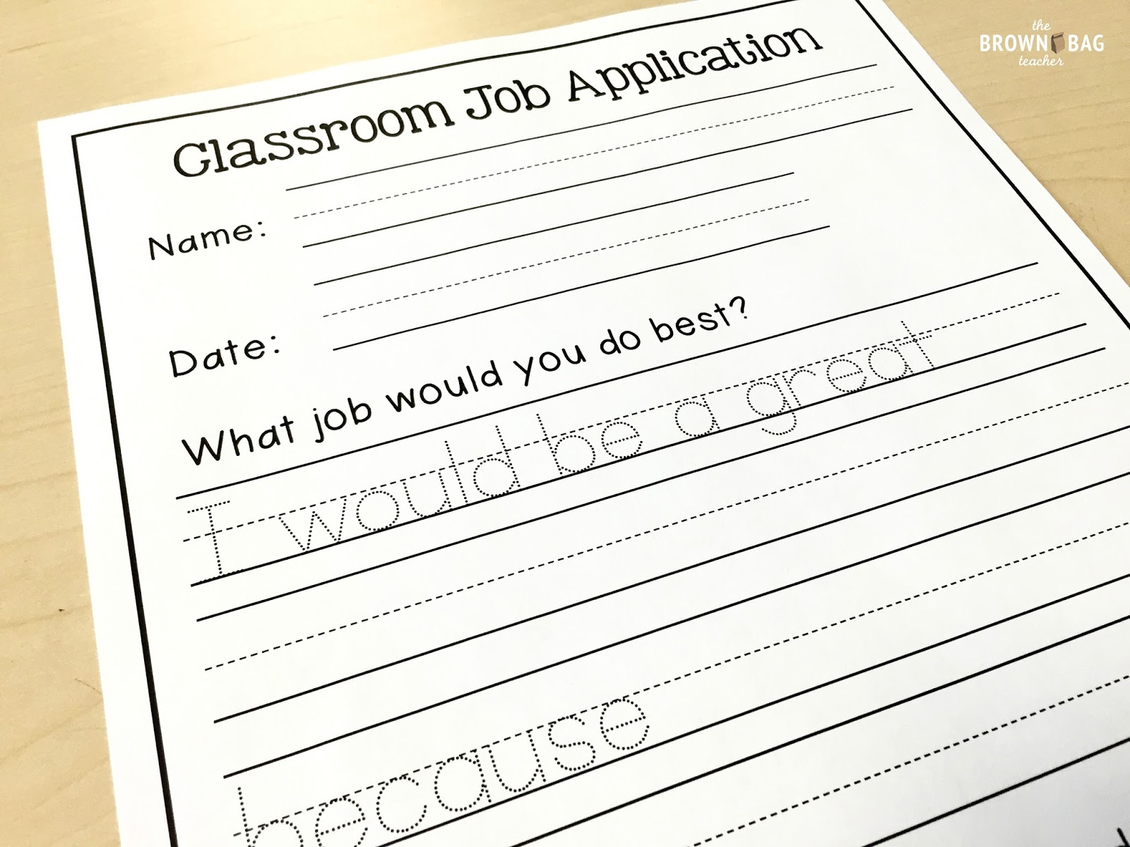 classroom jobs in st grade the brown bag teacher i teach at a leader in me school so all students are expected to fill a leadership job in the classroom below is a look at the job descriptions i send