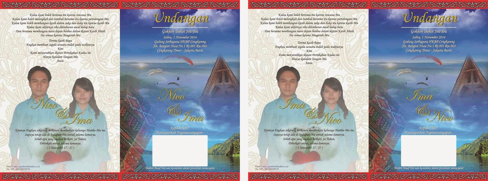 undangan batak