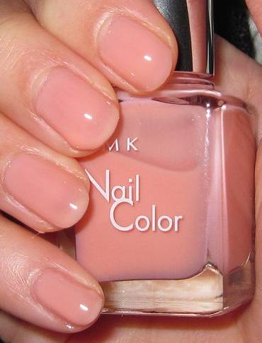 Blushed Wombat...: RMK P05 Natural Pink Beige Nail Color polish ...