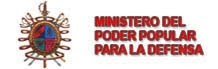 MINISTERIO DE LA DEFENSA