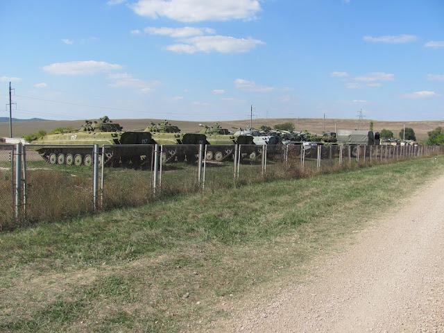 Танкодром у с. Дружное