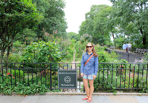 The 91st Street Garden In Riverside Park (west 91st Street And Riverside  Drive) At The Very End Of The Movie, Joe Reveals That He Is NY152 By  Bringing His ...