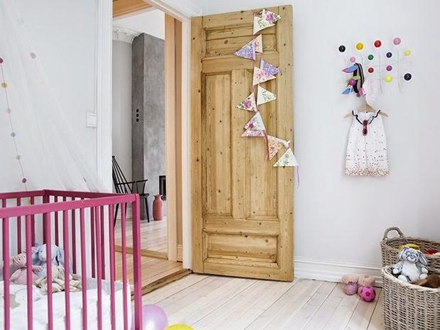 dormitorio bebe rosa