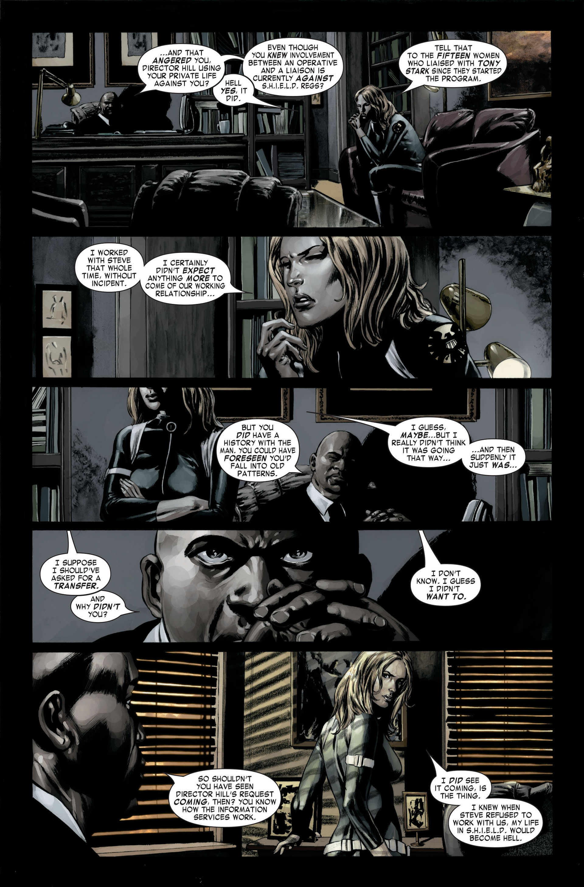 Captain America (2005) Issue #22 #22 - English 7