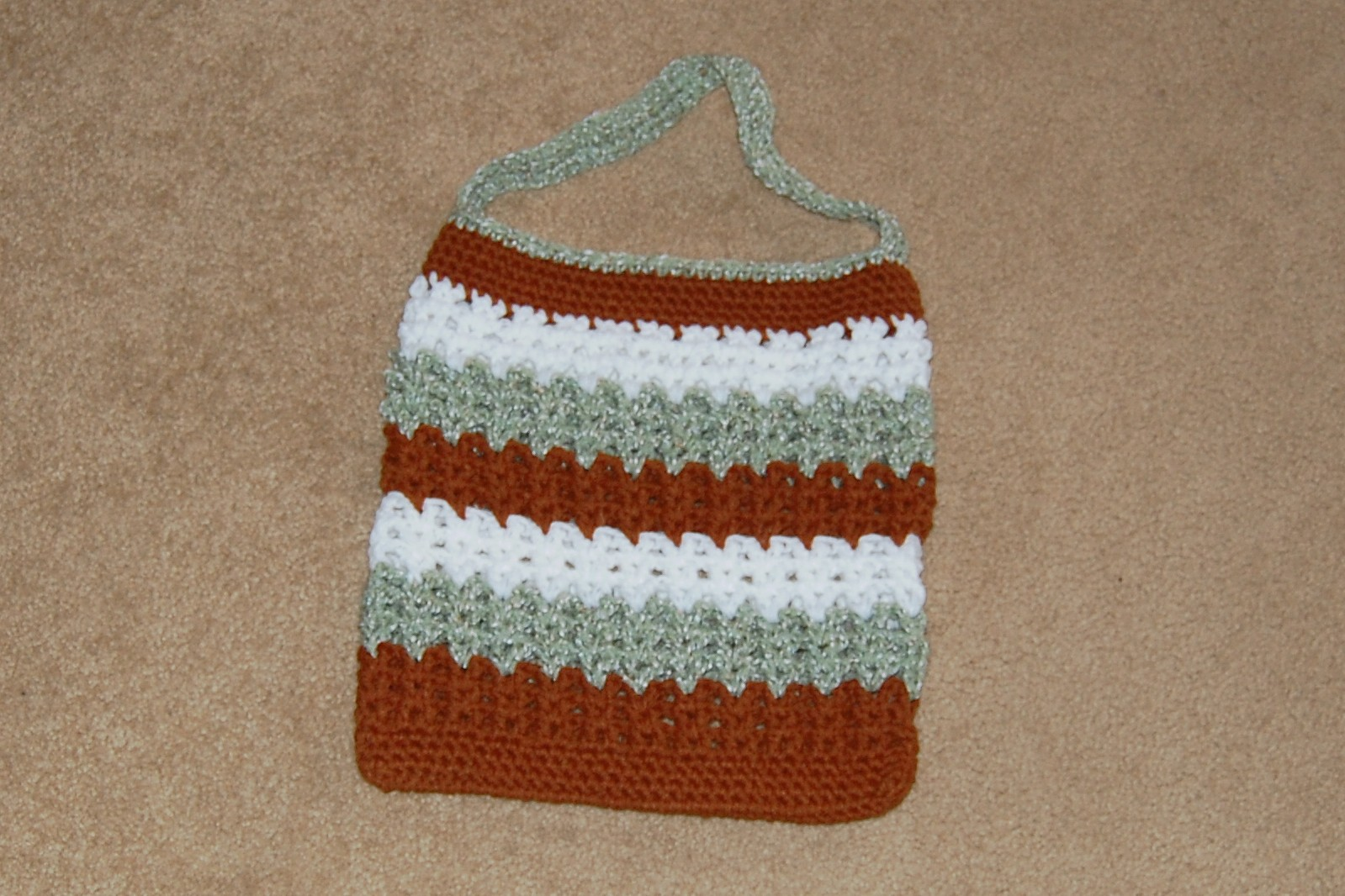 FREE CROCHET GROCERY BAG PATTERN - Crochet and Knitting Patterns