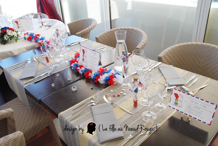 Decoration De Table Menu Rouge : La fille au noeud rouge faire part sur mesure et d� coration
