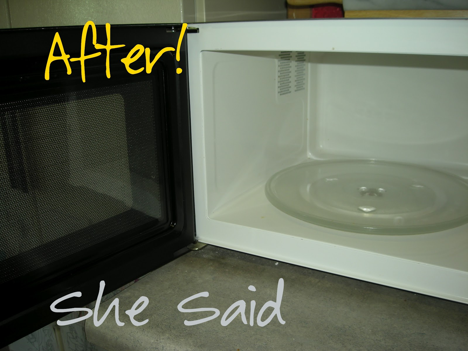 how to clean the outside of your microwave
