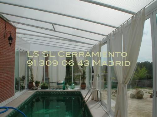 L 5 cerramientos de terrazas y cortinas de cristal fotos de cerramientos de piscinas - Cerramientos para piscinas ...