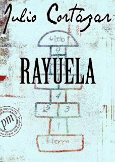"""Cubierta  de """"Rayuela"""", de Julio Cortázar."""