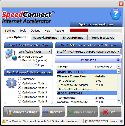 SpeedConnect Internet Accelerator 8.0 Full Version