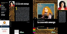 La cosa ms amarga. Novela