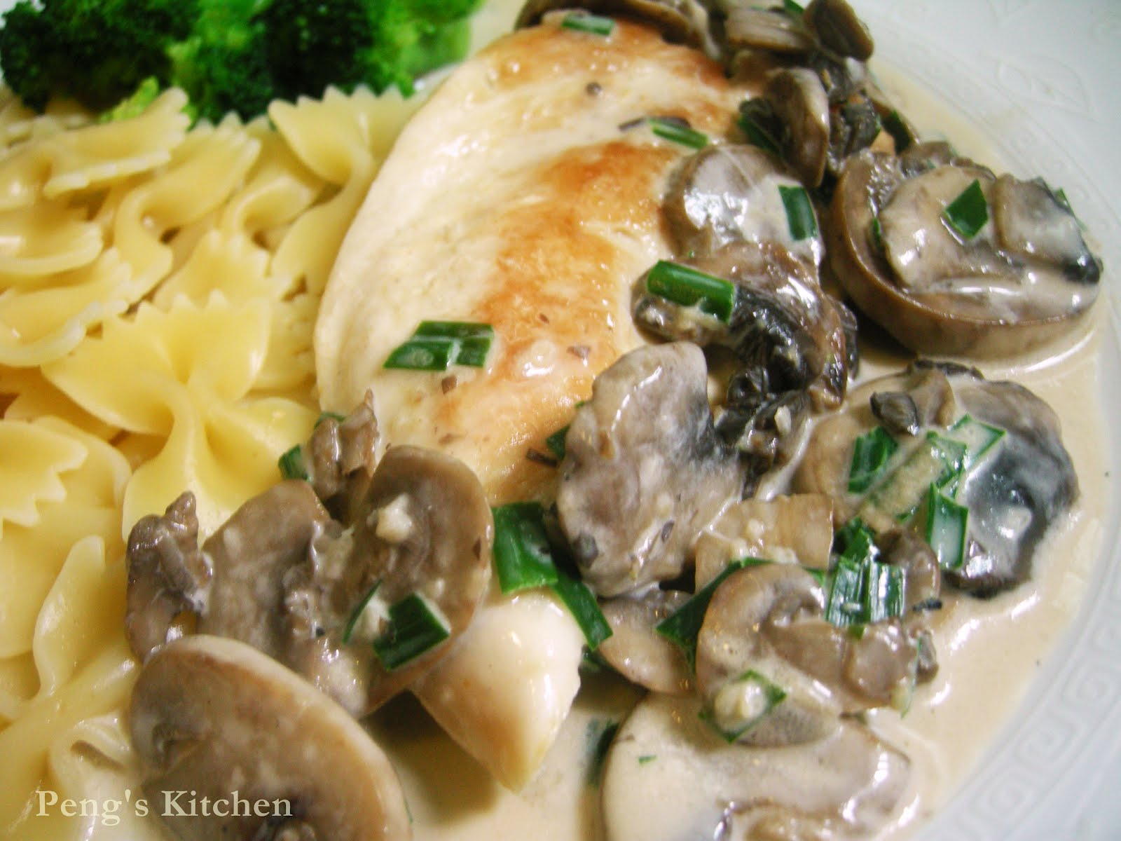 Farfalle With Creamy Wild Mushroom Sauce Recipes — Dishmaps