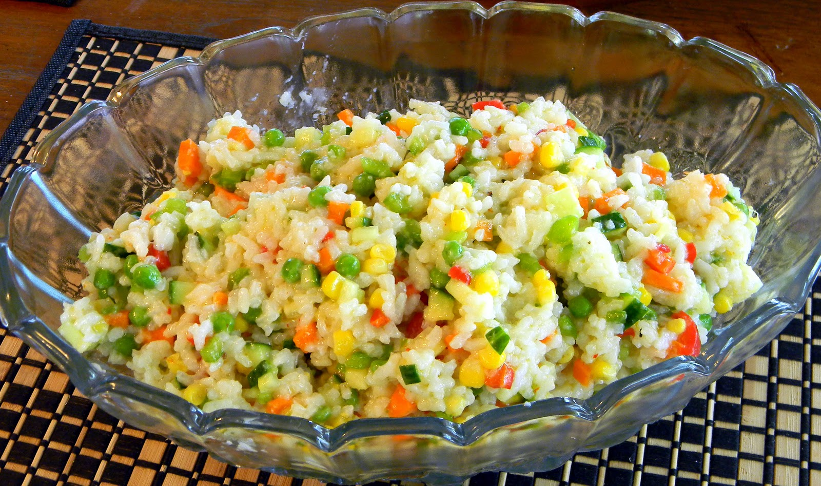 Gluten Free: Confetti Rice Salad