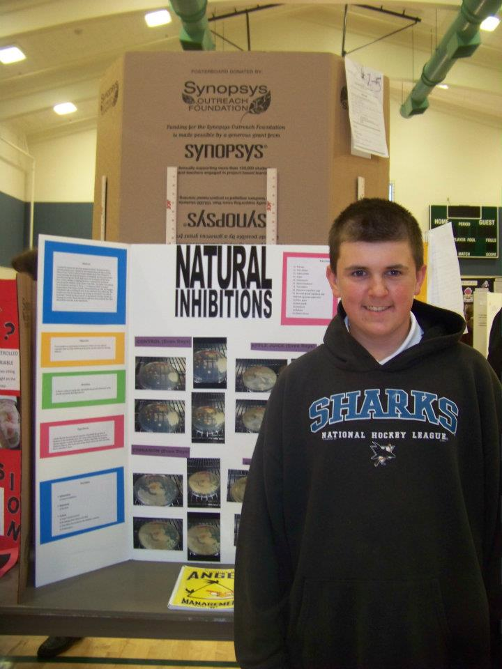 9th grade science fair project