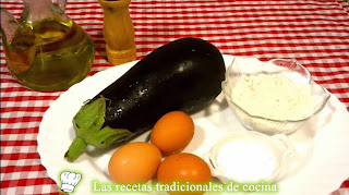 ingredientes berenjena rebozada