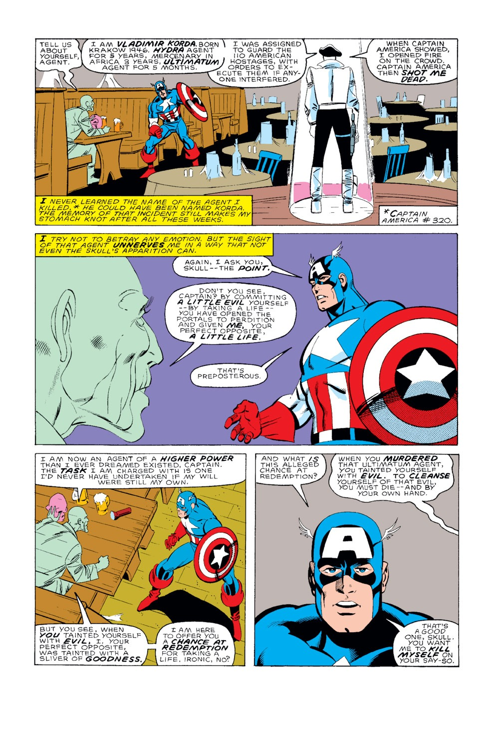 Captain America (1968) Issue #326 #255 - English 10