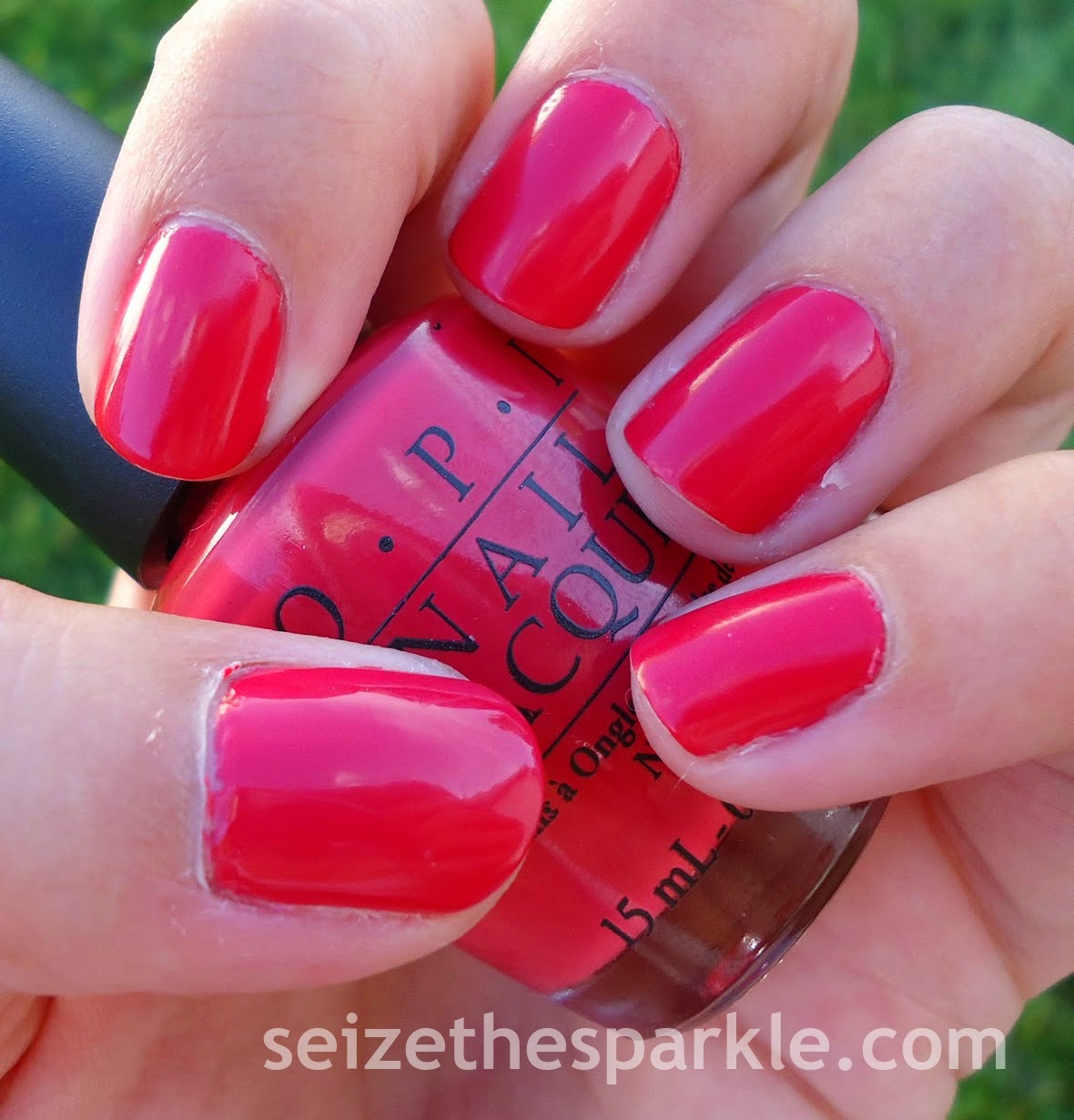 OPI Paint My Mojitoes Red
