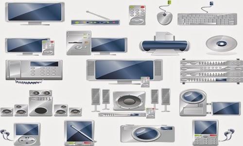 armazenar, equipamentos, eletrônicos, informática
