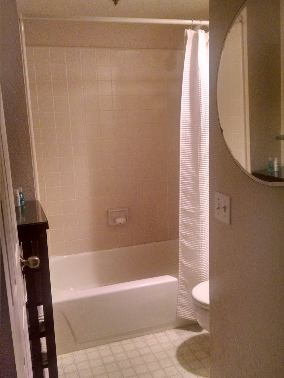 bathtub/shower