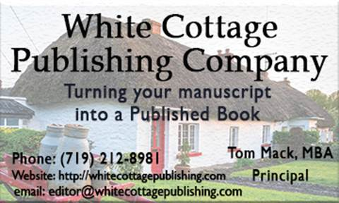 GET YOUR BOOK PUBLISHED NOW!