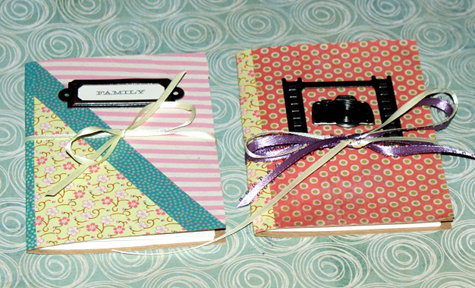 DIY Washi Tape Notebooks - Ideas for Using Washi Tape