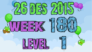 Angry Birds Friends Tournament level 1 Week 180