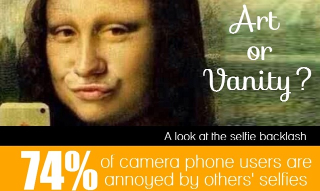 art or vanity  a look at the selfie backlash  infographic