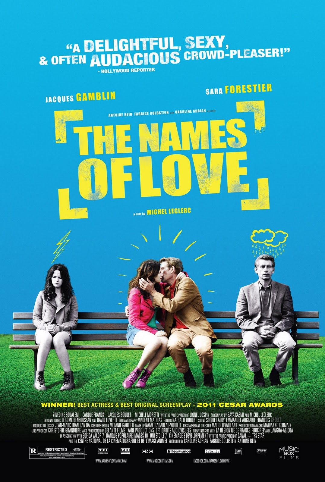 review quotthe names of lovequot from the front row