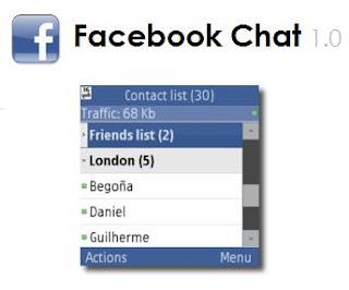 aplicacion java facebook chat para samsung