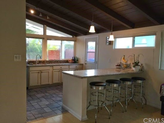 The Images Shown Of The Kitchen Reveal A Very Open Living Space, With  Soaring Wooden Beamed Vaulted Ceilings, ...