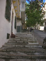 stairway in Tangier