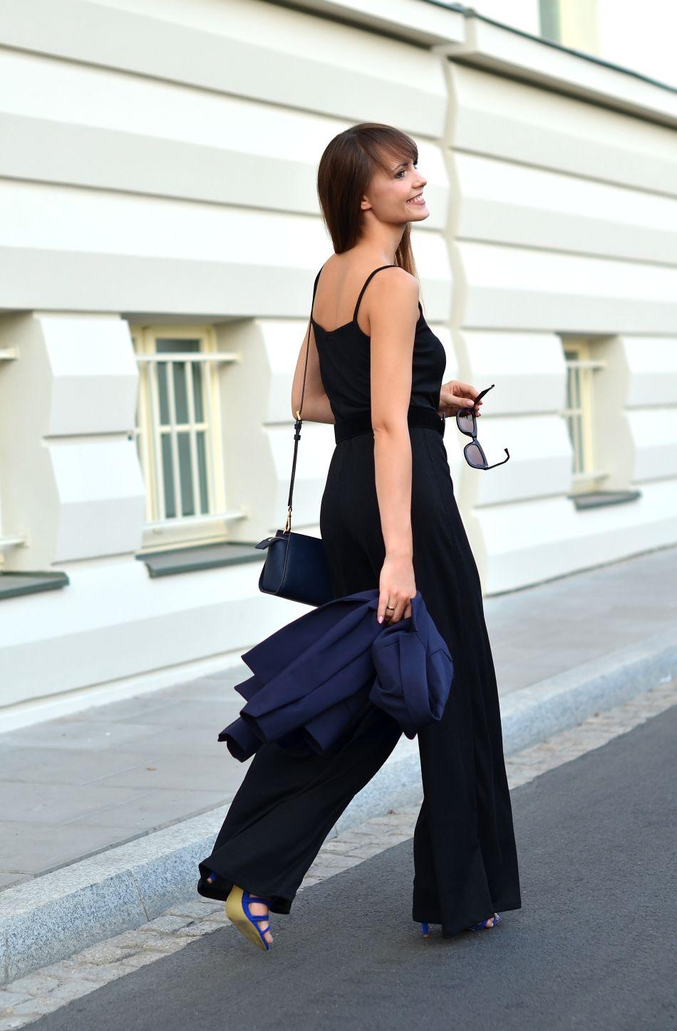 kombinezon czarny hm | blog o modzie | sposoby na dobry dzień | kamila leciak | cammy