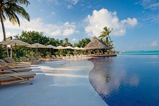 A luxury resort in Male