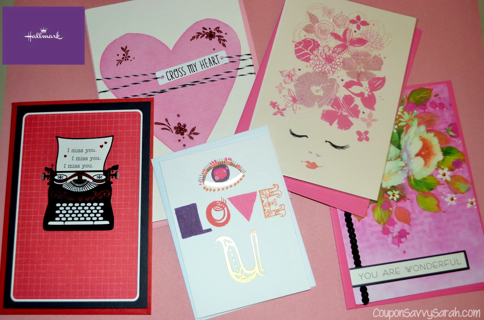 Coupon savvy sarah hallmark valentines day card collection i suggest heading to your nearest hallmark stores and check out their beautiful assortment of cards while the selection is there dont be like my husband kristyandbryce Image collections