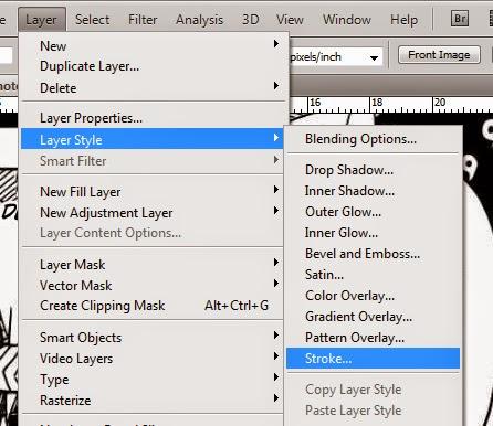 Cara Typesetting komik dengan photoshop