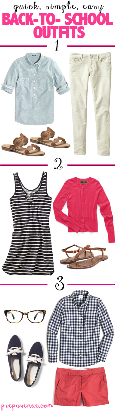 Easy Back-To-School Outfits - Prep Avenue
