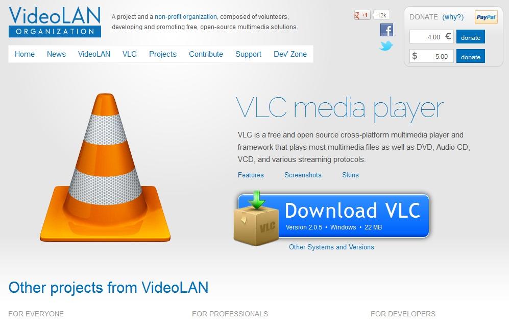 vlc media player atau video lan adalah player multimedia portabel ...