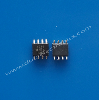 IC SMD SI4946E Dual N-Channel 60-V (D-S), 175C MOSFET
